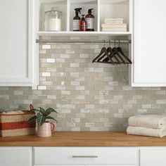 Daltile Premier Accents Beach Brick Joint 11 in. x 13 in. x 6 mm Glass Mosaic Wall Tile sq. / - The Home Depot Mosaic Wall Tiles, Mosaic Glass, Pick Up, Glass Brick, Glass Subway Tile, Fireplace Wall, Shower Floor, Kitchen Backsplash, Kitchen Remodel
