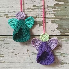 Crochet for Christmas round up – Atty*s. Crochet Quilt, Tunisian Crochet, Crochet Yarn, Crochet Flowers, Free Crochet, Crochet Christmas Ornaments, Christmas Knitting, Crochet Angel Pattern, Crochet Patterns