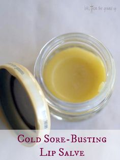 2 Tbsp lemon balm-infused oil3 tsp gratedbeeswax2 tspsheaorcocoa butter6-8 droplemon balm essential oil, for an extra cold sore-busting boost (or whatever other flavor you want)