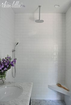 Dear Lillie: Our Almost Finished Master Bathroom Makeover with Before and Afters