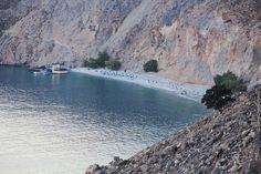 Glyka Nera beach, Sfakia, Chania, Crete, Greece
