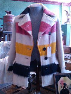 Hudson Bay Point Blanket Coat