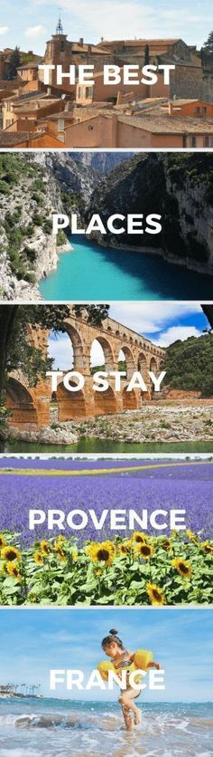 Looking for the best places to stay in Provence, France? Provence is an incredible destination with so much to offer every visitor. Find the best place to stay in Provence - for every kind of holiday!