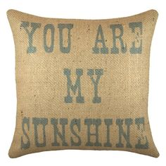 You Are My #Sunshine #Throw #Pillow