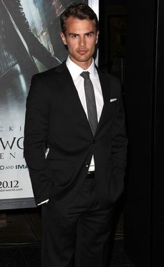 Theo James Is The Next R Pattz