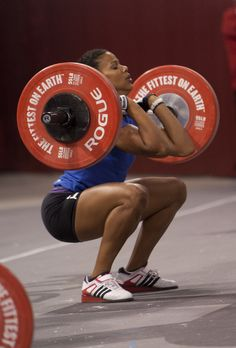CrossFit | Elisabeth Akinwale...Such an awesome inspirational role model....