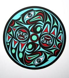 Traditional Inuit art.