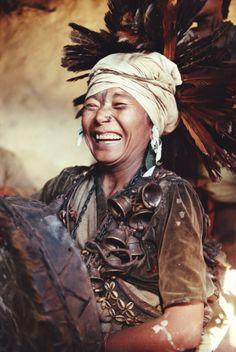 Nepal-rukum-kham-magar-shaman-smiling