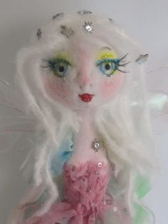 The Original KAERIE FAERIE Doll soft sculpture by Kaeriefaerie52, $75.00