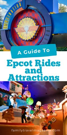 While many people think of the educational aspect of Epcot, there are also lots of fun rides and attractions throughout the parks. Here are some of our favorites. Epcot Rides, Spaceship Earth, Magic Bands, Walt Disney World Vacations, Hotel Reviews, Attraction, Parks, How To Memorize Things, Destinations