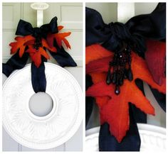 christmas diy & decor | ceiling medallion wreath instructions {organize & decorate everything}
