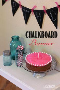 Chalk Board Banner