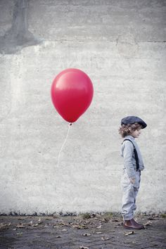 The red balloon. Rolinda Windhorst Photography