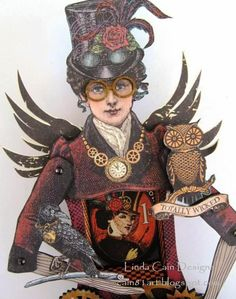 FRIENDS in ART: She's Back as Madame Macabre!