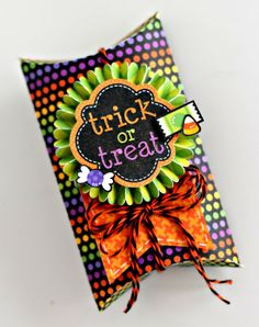 Introducing 2014 Design Team Member Candace Zentner, Halloween Parade Pillow Box