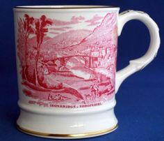 Coalport Ironbridge Museum Buildwas Abbey Shropshire Commemorative Mug Museum, Mugs, Tableware, Ebay, Dinnerware, Tumblers, Tablewares, Mug, Dishes