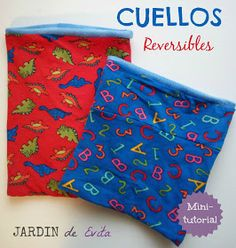 CUELLOS CALENTITOS y Reversibles | Jardín de Evita Sewing Lessons, Sewing Hacks, Diy Mask, Diy Face Mask, Polaroid, Small Sewing Projects, Sewing Techniques, Baby Sewing, Diy Clothes
