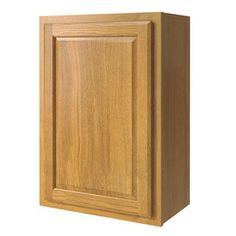 Kitchen Classics 21-in W x 30-in H x 12-in D Finished Portland Oak Single Door Kitchen Wall Cabinet  $93  order 2