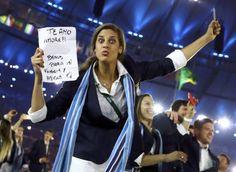 Una selección foto a foto de la ceremonia celebrada en el estadio Maracaná