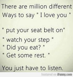 There Are Million Different Ways To Say...