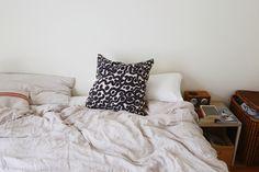 Dense Pillow Textile Design, Screen Printing, Sun, Pillows, Interior, Room, Houses, Screen Printing Press, Bedroom