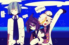 Fukami, Dolphi, and Memoca - Wadanohara and the Great Blue Sea Lolis Anime, Kawaii Anime, Anime Art, Alice Mare, Mad Father, Rpg Horror Games, Sea Witch, Grey Gardens, Manga Games