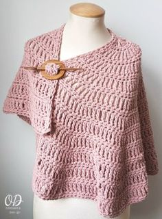 Simply Casual Small Shawl 1