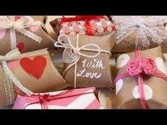 How to Make a Pillow Box Tutorial - DIY Gift Boxes - handmade packaging, great for gifts and jewelry - YouTube
