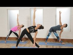30-Minute Power Yoga Flow For Tight Abs and a Toned Butt - YouTube