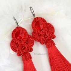 Crochet Earrings, Handmade Jewelry, Unique, Fashion, Moda, Fasion, Diy Jewelry, Hand Print Ornament, Trendy Fashion