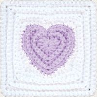 Crochet heart baby blanket pattern. all eco patterns on this site are $4.50 (: