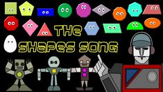 The Shapes Song: Shapes Rap/Chant - The Kids' Picture Show (Fun, Cool & ... My kids LOVE this song!  Perfect for the end of the day or when we have extra time throughout the day.