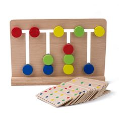 Baby Toy Montessori Four Colors Game Color Matching for Early Childhood Education Preschool Training Learning Toys-in Math Toys from Toys & Hobbies on Aliexpress.com | Alibaba Group