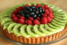 Cheesecake with Fruit - (photo only)