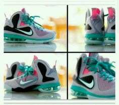 My favorite pair of Lebron's ever #SouthBeaches