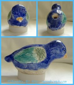 Ceramic Animal Whistles- good ceramic project for kids- for any class, not necessarily for Aug camp