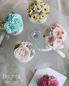 #브라이트앤 #앙금플라워 #컵케이크 #디저트 #떡 #dessert #cake #flower #flowercake