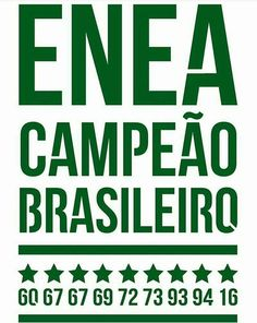Palmeiras # O enea é Nosso #