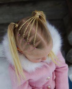 up hairdos – Hair Style Little Girl Hairdos, Girls Hairdos, Up Hairdos, Pigtail Hairstyles, Baby Girl Hairstyles, Princess Hairstyles, Girls Braids, Braided Hairstyles, Toddler Hairstyles
