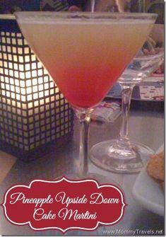pineapple upside down cake martini recipe