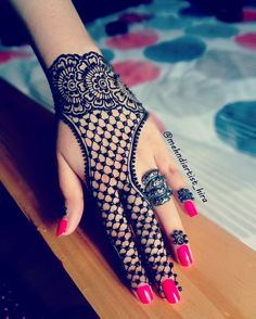 ❤❤♥For More You Can Follow On Insta @love_ushi OR Pinterest @anamsiddiqui12294 ♥❤❤ Henna Designs Kids, Finger Henna Designs, Stylish Mehndi Designs, Mehndi Design Pictures, Mehndi Art Designs, Beautiful Mehndi Design, Latest Mehndi Designs, Bridal Mehndi Designs, Mehndi Designs For Hands