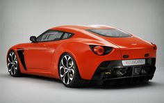 The Aston Martin V12 Zagato offers aggressive yet graceful curves courtesy of a handcrafted bonded aluminum body, and features a front mid-mounted 6.0L V12 engine pumping out 510 hp, rear wheel drive, a steel roll cage, a six-speed gearbox with auto-shift and select shift manual modes, menacing LED taillights, and the iconic Zagato double bubble roof.