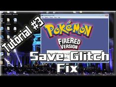 Draven's Tutorial #3: Pokemon Fire Red Save Glitch Fix