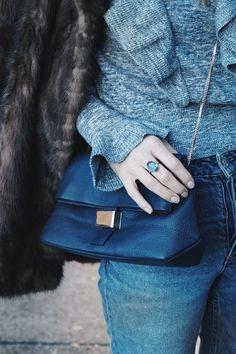 Blue shades on Black Vanilla www.b-vanilla.com