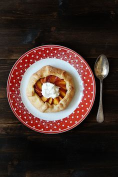 Frangipane Galette with Peaches