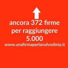 💡ancora 372 firme per raggiungere ⭕ 5.000 🔝     http://buff.ly/2hPe4OK  **PASSAPAROLA** #vulvodinia #petizione #svv