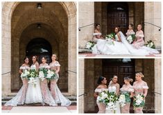 Bride and Bridesmaids UWA Brides And Bridesmaids, Bridesmaid Dresses, Wedding Gowns, Wedding Day, Pastel Pink, Perth, Family Photographer, Mauve, Florals