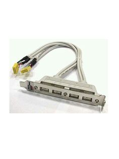 Kabel USB 4port - Untuk menambah USB port via connector 9pin di mainboard.  Harga rp65.000 Dapatkan harga special di www.tokomipo.com Pci Card, Nail Clippers