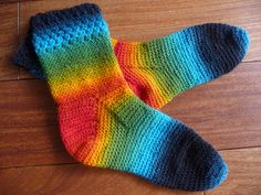 Cozy Crochet socks free pattern
