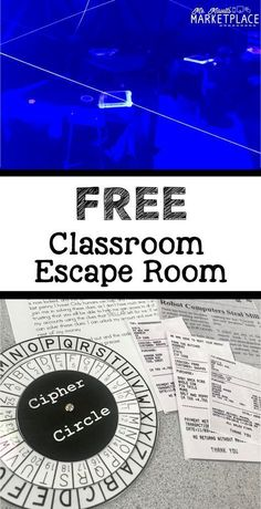 Create an escape room in your classroom! This concept can be integrated into any subject, but I think it would be interesting implementing it into Social Studies in particular. This could be a way to engage and immerse students in historical events. Escape Room Design, Escape Room Diy, Escape Room For Kids, Escape Room Puzzles, Escape Puzzle, Room Kids, Breakout Edu, Breakout Game, Breakout Boxes